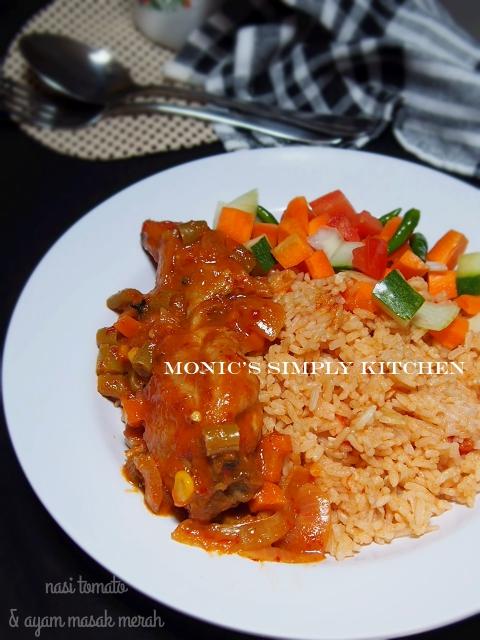 resep nasi tomato ayam masak merah