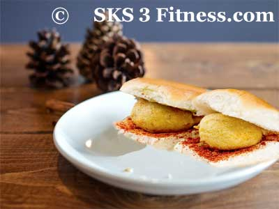 how to make Vada Pav Recipe in Hindi & English sks3fitness.com
