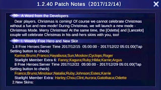 Mobile Legends Patch Notes 1.2.40