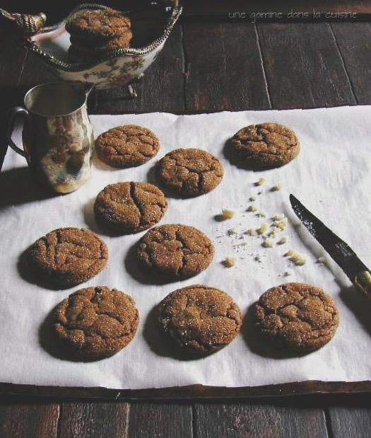 triple ginger cookies :: une gamine dans la cuisine