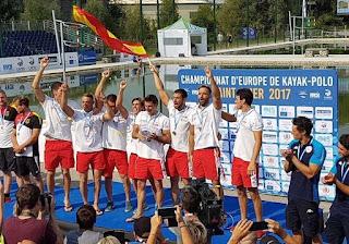KAYAK POLO - España es la nueva campeona de Europa masculina