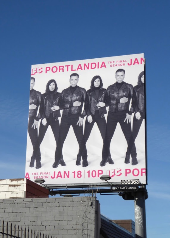 Portlandia final season billboard