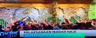 Haji Alternatif Syiah ke Karbala Irak