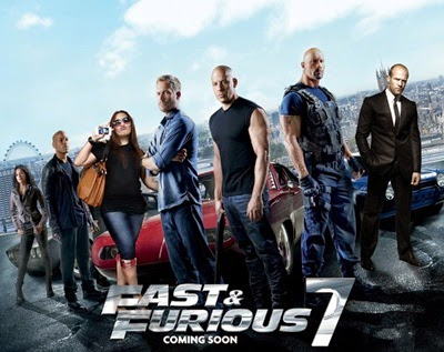 Cover Movie Fast and Furious 7