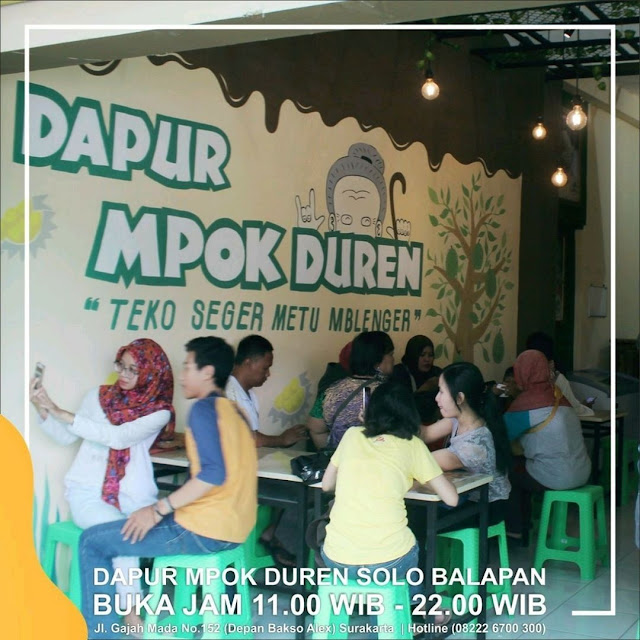 Outlet Dapur Mpok Duren Solo Balapan