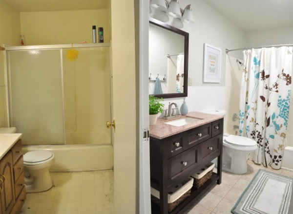 Diy home sweet home diy bathroom remodeling on a budget for Bathroom remodel 101