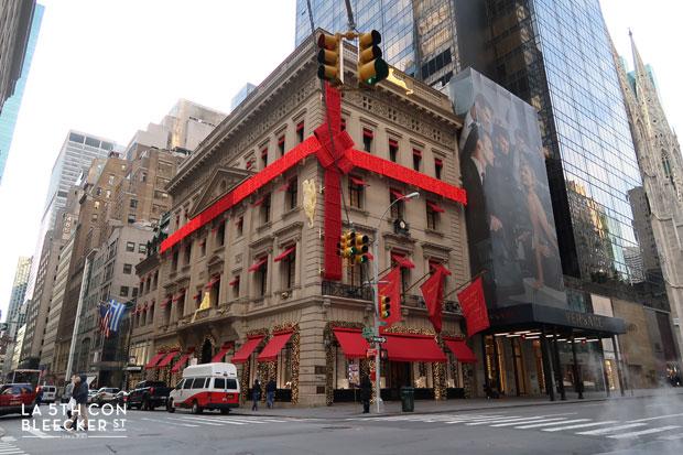 Las Navidades en Nueva York decoración Cartier