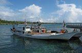 Perahu, Nelayan ,Jinato ,Selayar, Tidak, Tenggelam, Namun, Terbalik ,Akibat, Sarat ,Muatan, Tegel ,Pada ,Bagian ,Atas, Palka