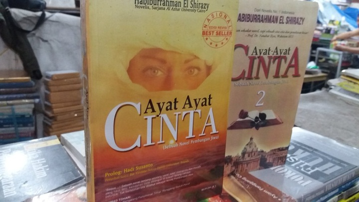 Daftar Novel Best Seller Karya Habiburrahman El Shirazy