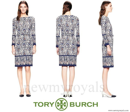 Kate Middleton wore Tory Burch Chrissy Dress