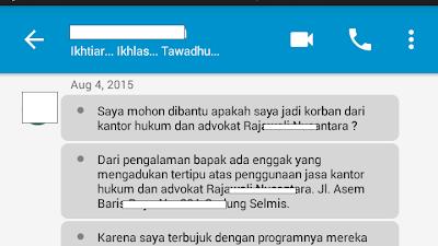 Contoh Sharing / Konsul Tentang Rajawalx 46