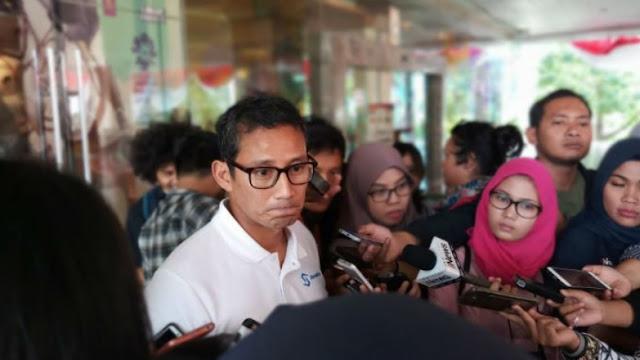 Sandi: Yang Dibutuhkan Tangani Lombok adalah Tobat Nasional
