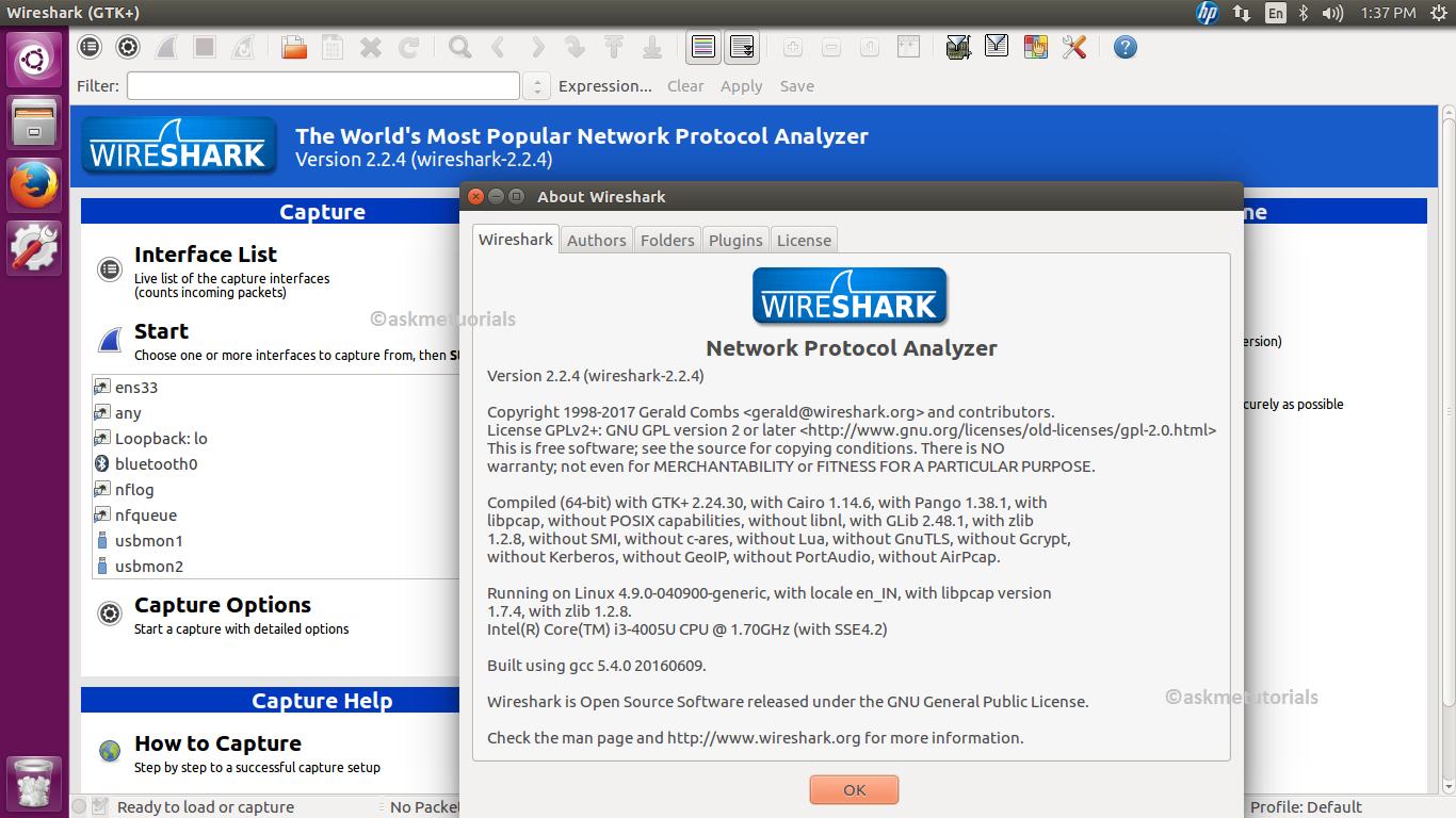 Install Wireshark 2 2 4 in Ubuntu 16 04 LTS & LinuxMint