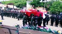 Jasad Anak Muda Pemberani dari Bima-NTB Ini, Dimakamkan Secara Militer