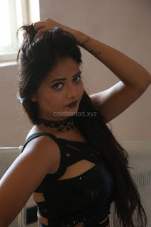 Shriya Vyas in a Tight Backless Sleeveless Crop top and Skirt 17.JPG