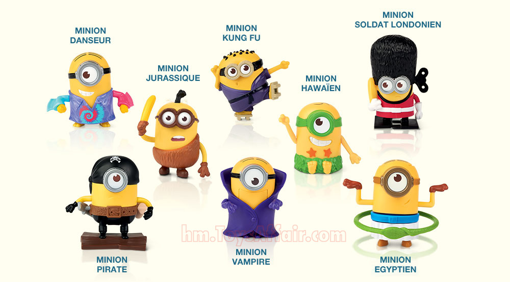 Minions Happy Meal Toys