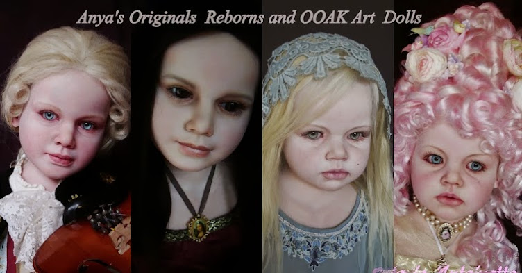 Anya's Originals  Reborns and OOAK Art  Dolls