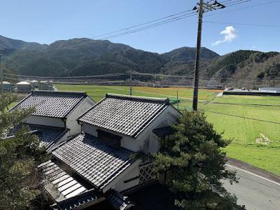 桜田温泉 部屋からの眺め