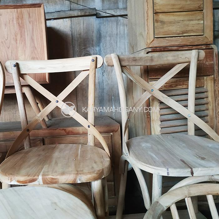 Jual Kursi Kayu Cafe Minimalis | Harga Kursi Cafe