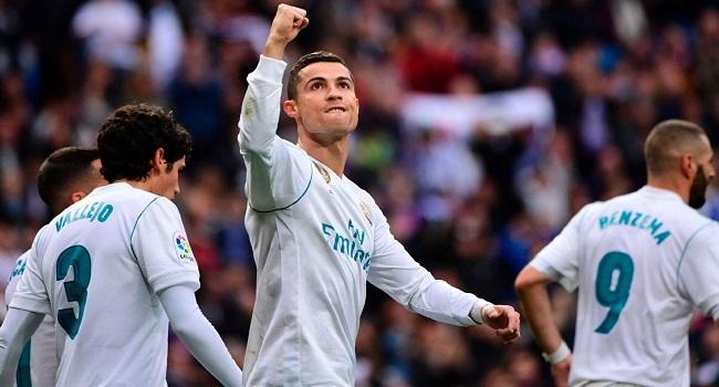 cuplikan gol real madrid vs sevilla 5-0