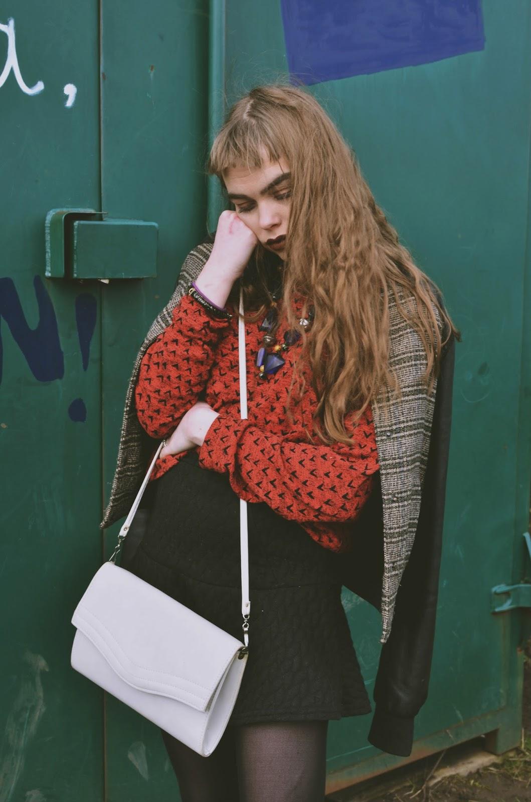 fashion, fashion blogger, ootd, scottish, style, grunge, grunge style, 90s, vintage,