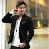 fashion cowok fashioncowok Korean Blazer Single Button Style