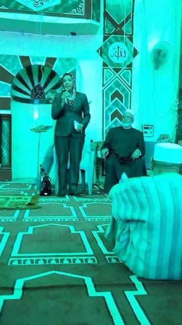 تمرد البرلمان اعتلاء نشوى الديب لمنبر مسجد الهيندى كارثة