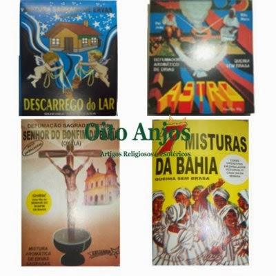 Incenso QSB | Oito Anjos Artigos Religiosos e Loja Esotérica