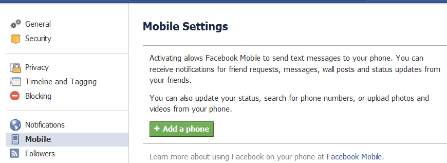 How I removed your phone number from your Facebook account