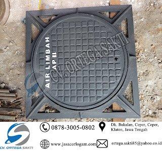 Manhole Cover Cast Iron tanpa engsel
