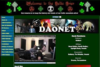 Page sur Daonet - Celtic rock from Brittany sur le site Celtic Crier . com http://www.thecelticcrier.com/daonet.html