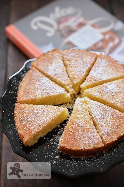 torta sabbiosa paradiso Italian sandy cake