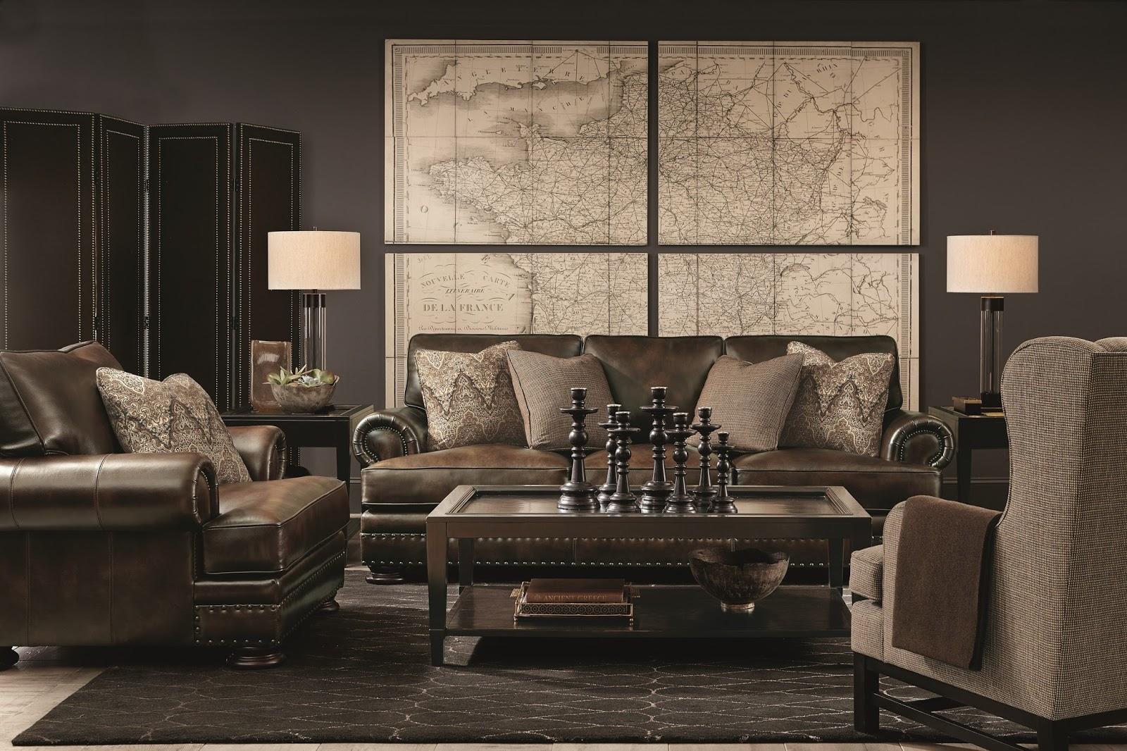 Bernhardt Leather Couch At Baeru0027s Furniture Store