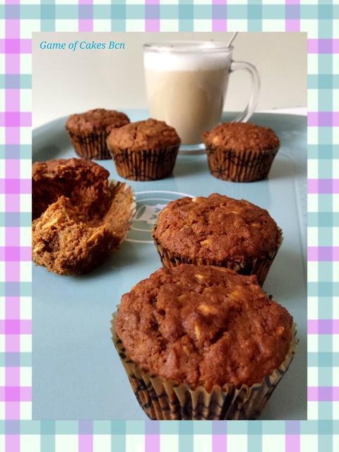 Morning glory muffins, veganos y sin gluten