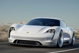Porsche Mission E Concept (2015) Front Side