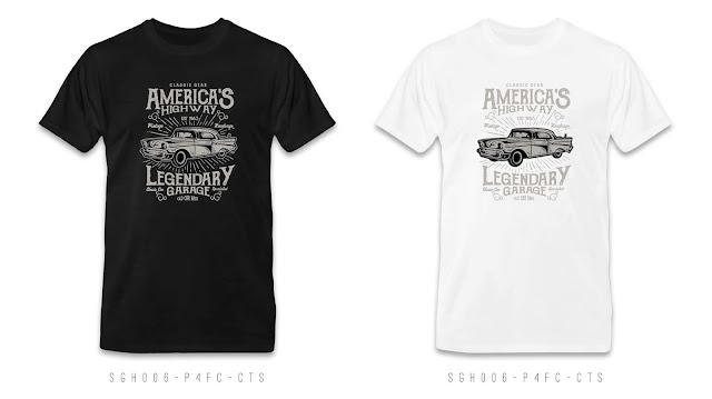 SGH006-P4FC-CTS Graphic T Shirt Design, Custom T Shirt Printing