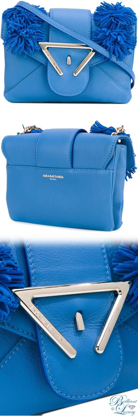Brilliant Luxury ♦ Sara Battaglia Roxy Crossbody Bag