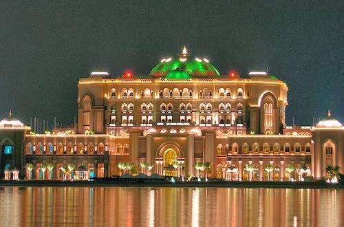 istana kerajaan Arab saudi yang mewah