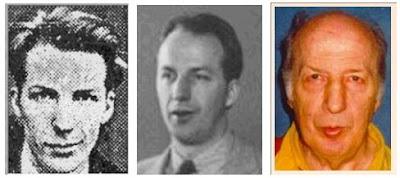 Olaf Ulvestad, en 3 etapas diferentes de su vida