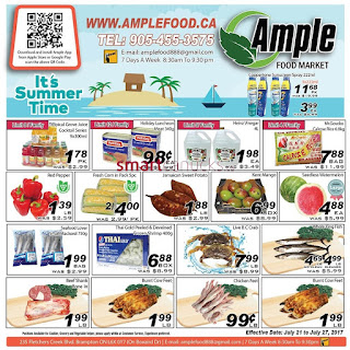 Ample weekly Flyer July 21 – 27, 2017