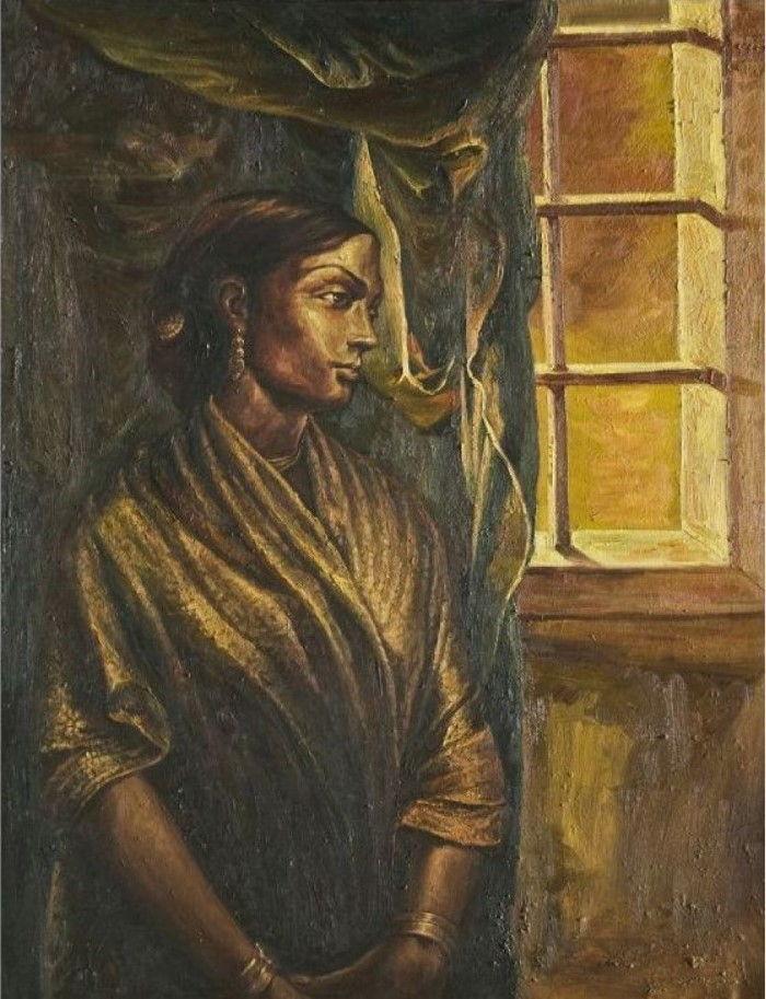 Индийский фигуративный художник