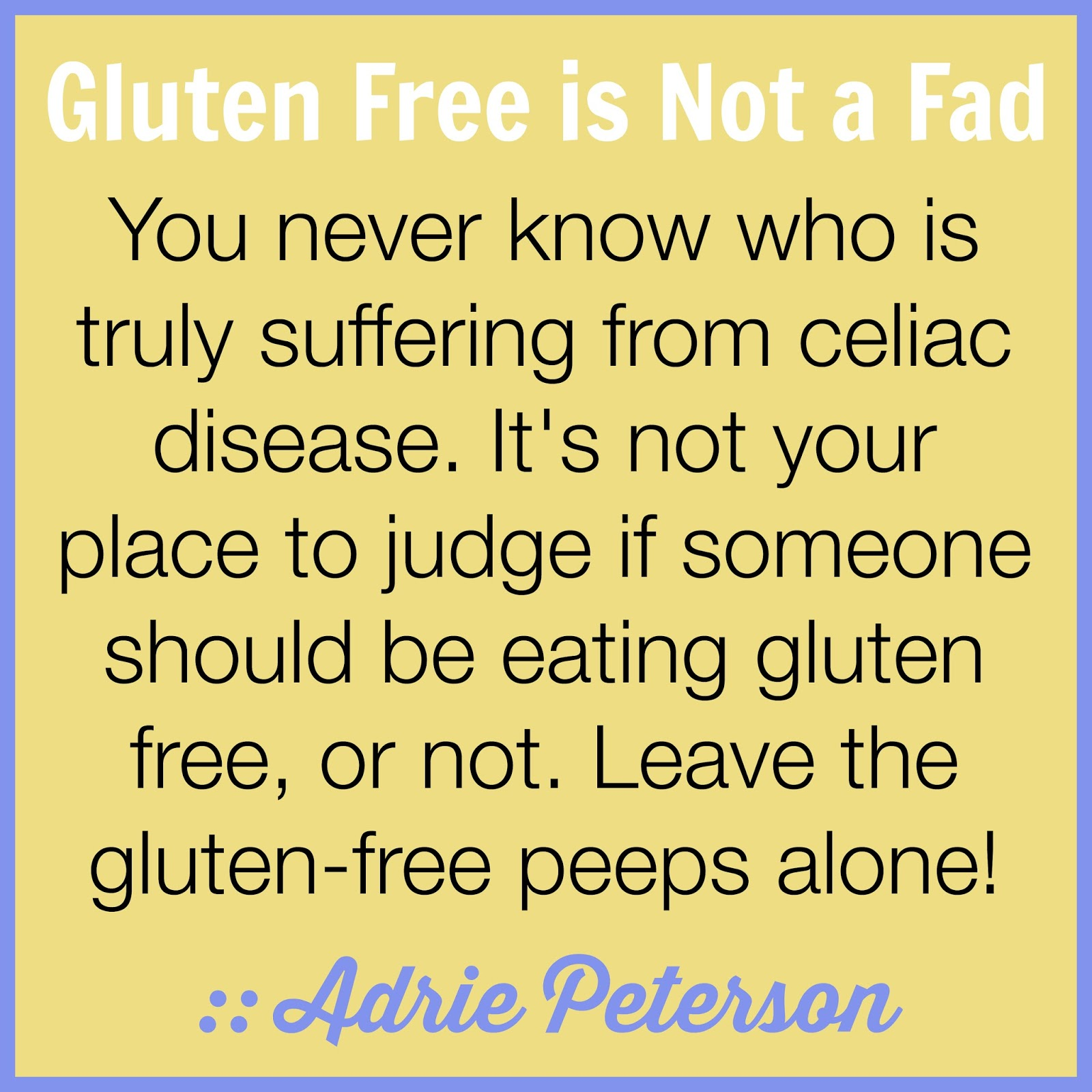 how to try a gluten free diet
