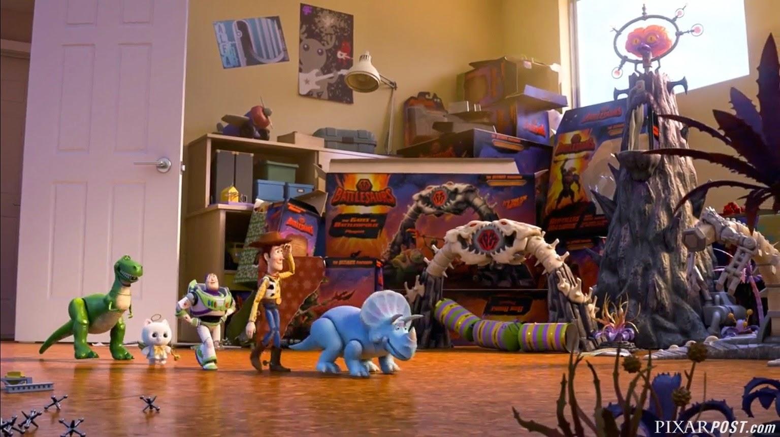 Toy Story That Time Forgot Battlesaur Sky Broadband