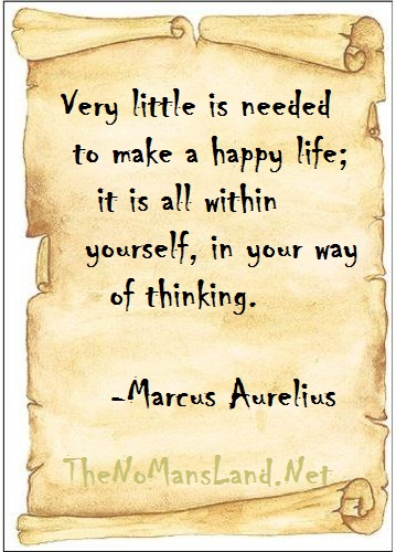 Quote on Life by Marcus Aurelius