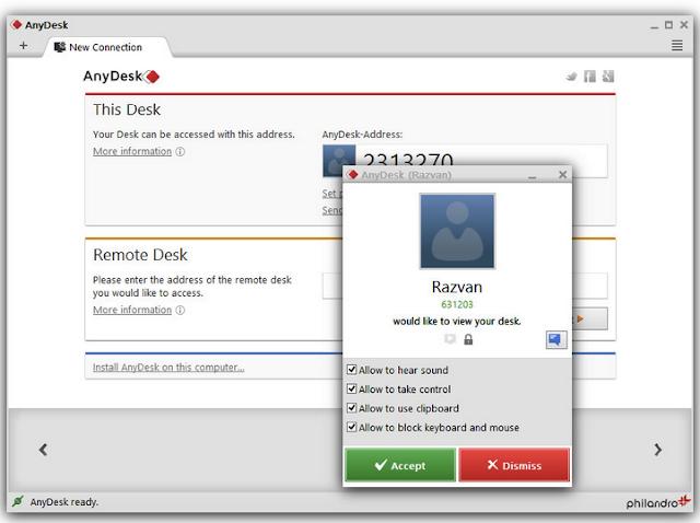 AnyDesk 2.3.0 Offline Installer 2016 image