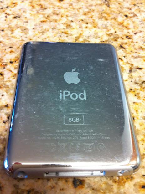 Arnie' Big Apple Ipod Nano 3rd Generation 8gb Mp3