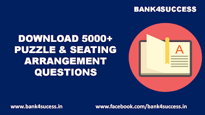 5000+ Puzzle and Seating Arrangement Question PDF Download