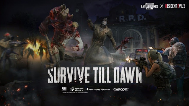 PUBG Mobile Arrival of Zombies From Resident Evil  Exciting Add, PUBG Mobile Arrival of Zombies From Resident Evil 2