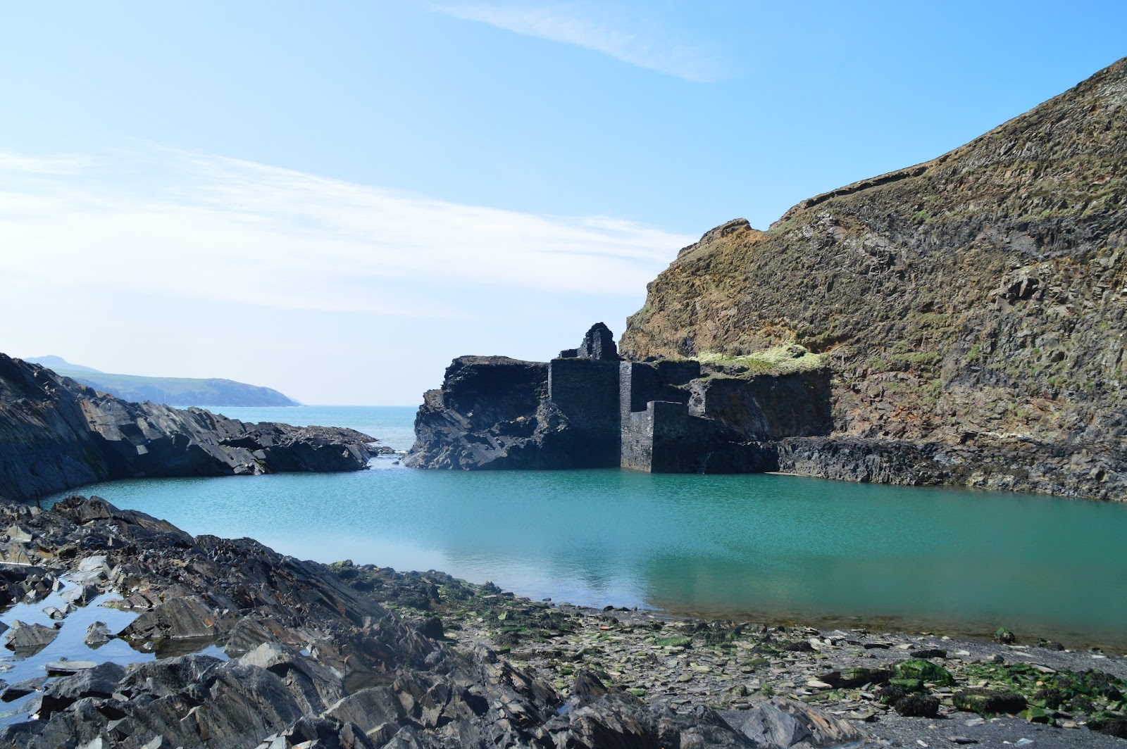 , Photographing Pembrokeshire- Blue Lagoon Abereiddy,