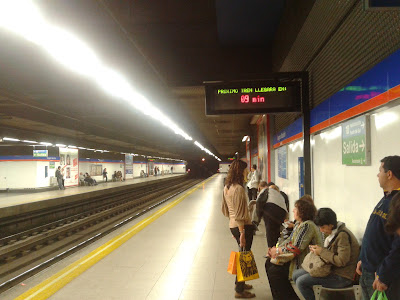Servicios mínimos en el metro para la huelga de este lunes
